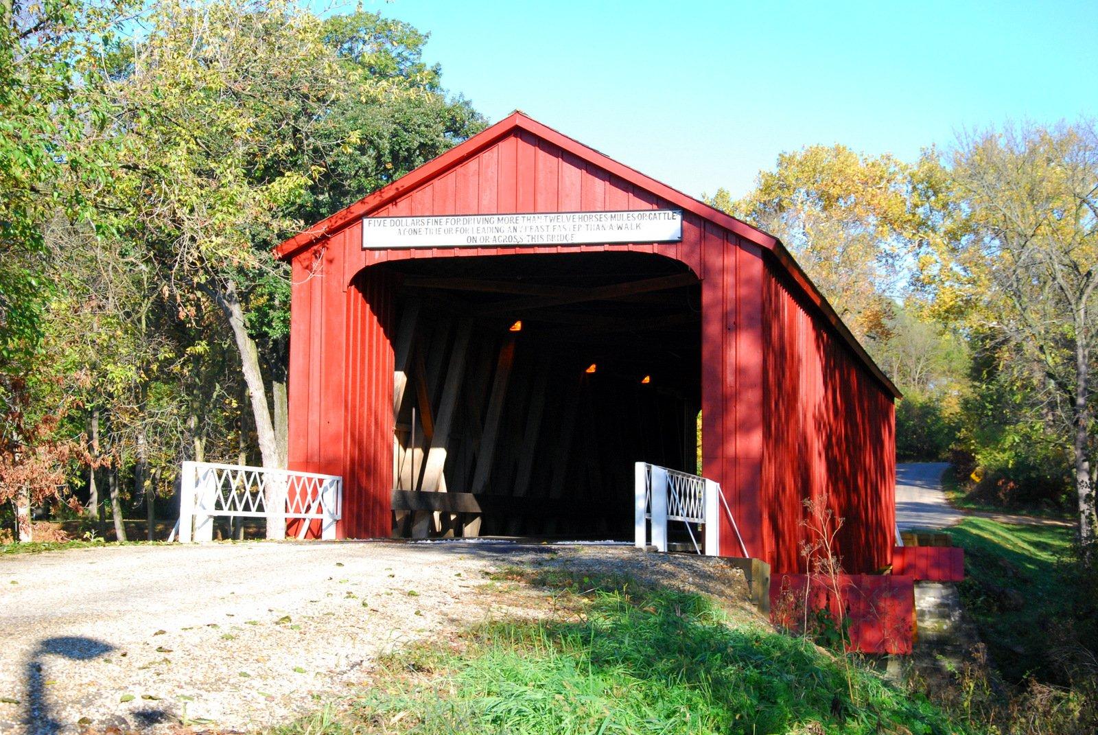 Red Covered Bridge, Princeton