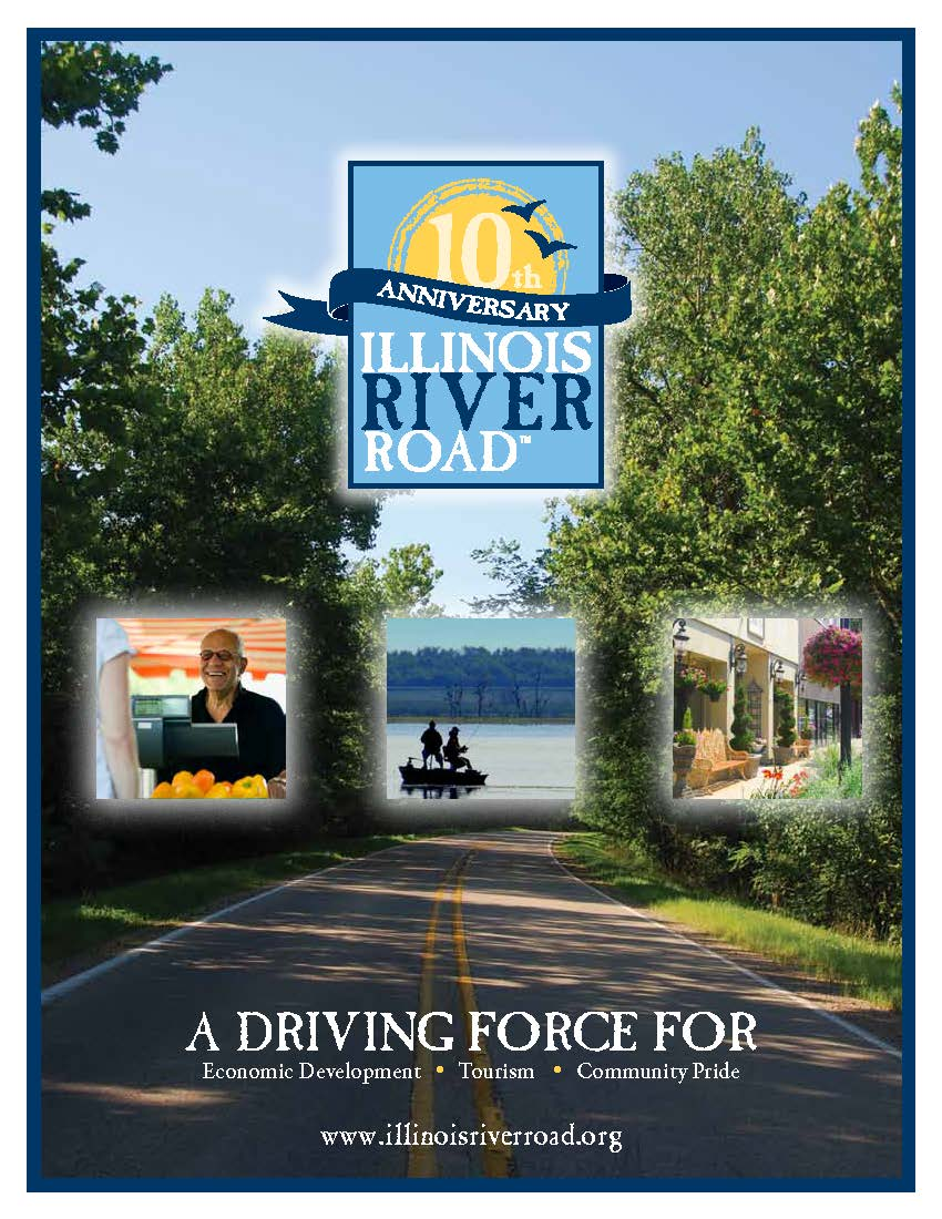 Illinois River Road Poster