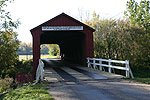 Red Covered Bridge near Lacon