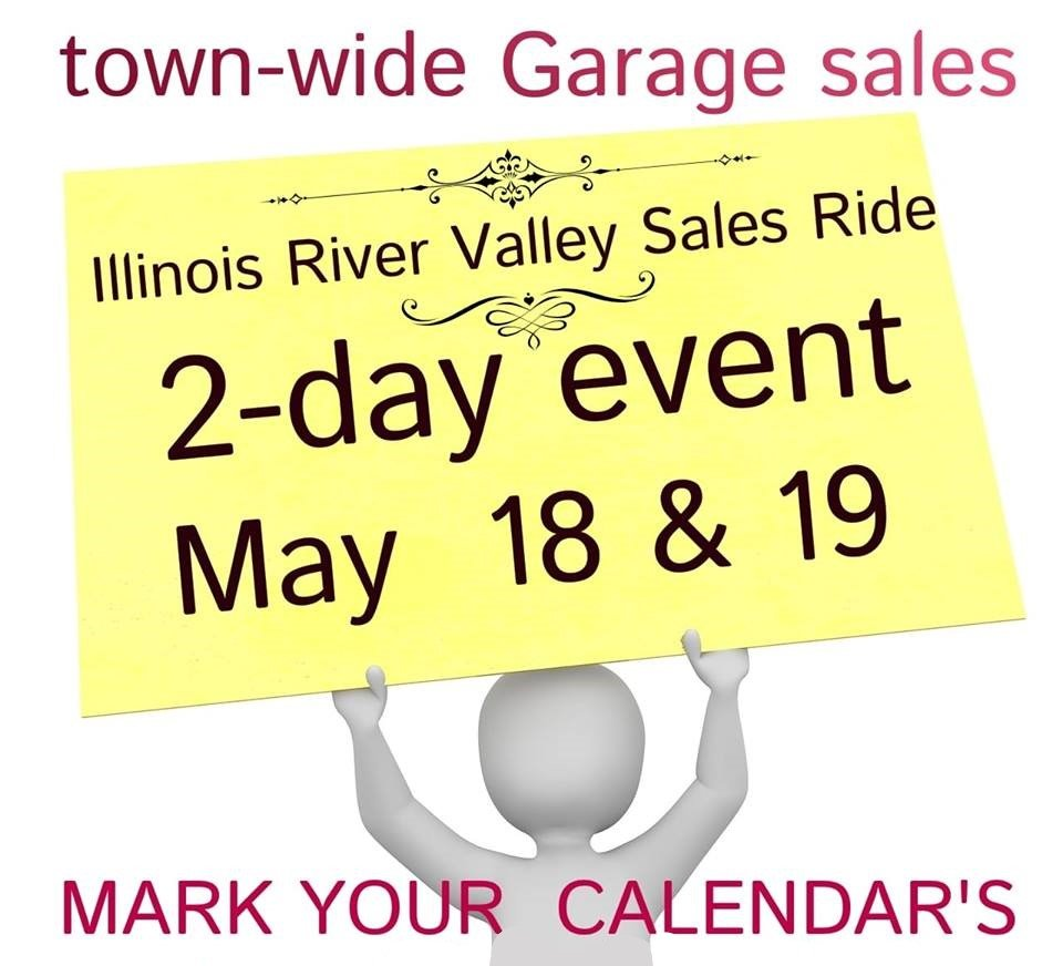 Illinois River Valley Sales Ride and Townwide Garage Sales